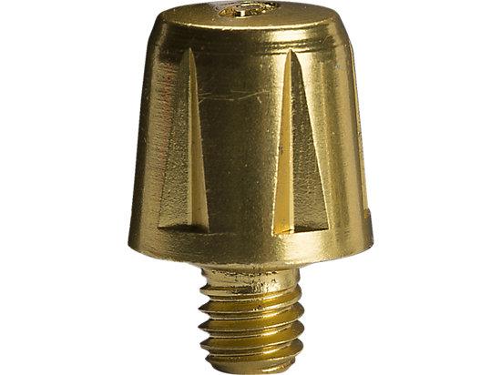13MM Metal Half Stud (6 Pce) Gold 3