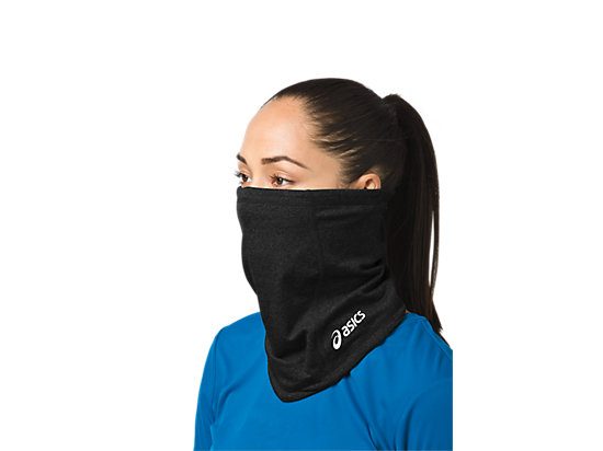 Thermopolis LT 2-N-1 Neck Warmer Black/Black 7