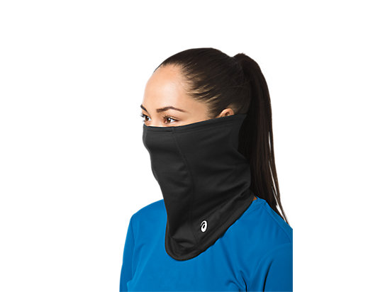Thermopolis LT 2-N-1 Neck Warmer Black/Black 3