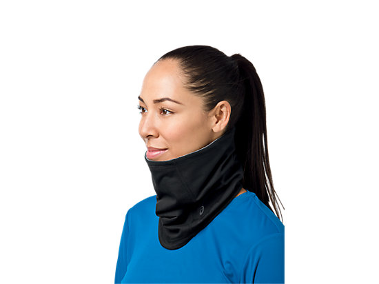 Thermopolis LT 2-N-1 Neck Warmer Black/Black 15