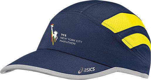 asics mesh running hat
