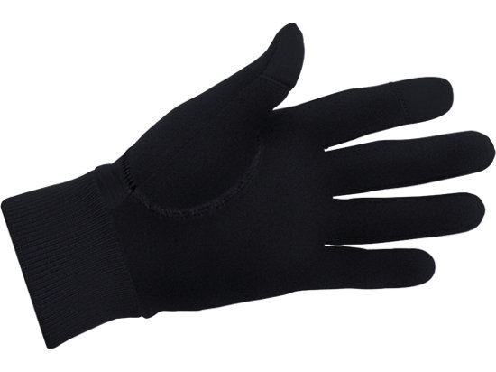 Thermal Run Glove Black 7