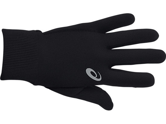 Thermal Run Glove Black 3