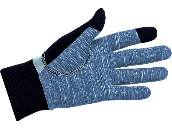 Thermal Run Glove Arona Heather/Poseidon Heather 7