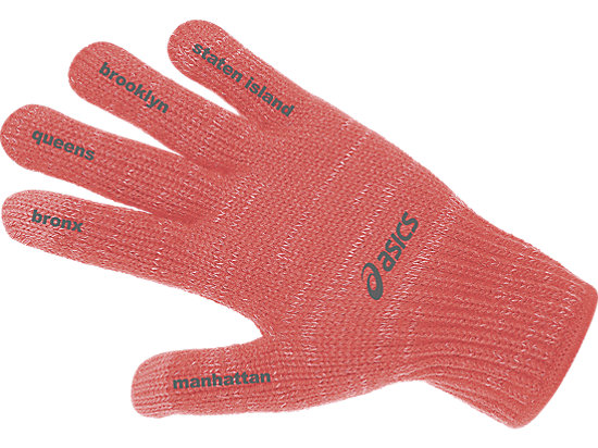 NYC Marathon Thermal Liner Glove Fiery Flame 7