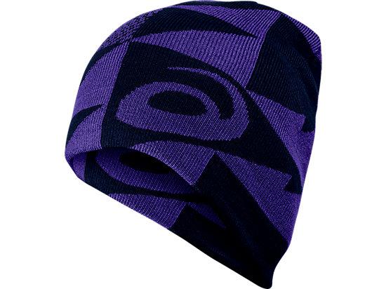 Reversible Knit Beanie Poseidon/Parachute Purple 3