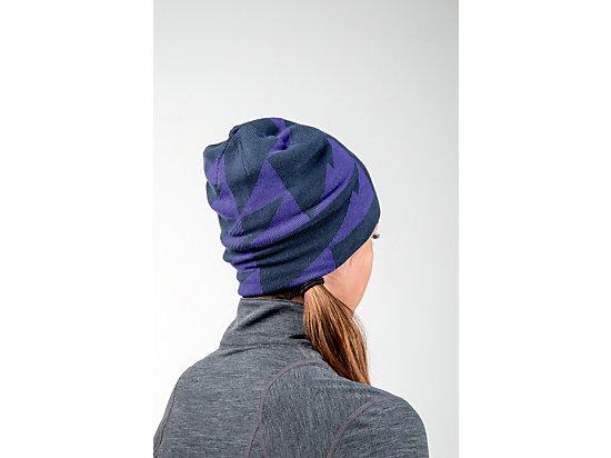 Reversible Knit Beanie Poseidon/Parachute Purple 15