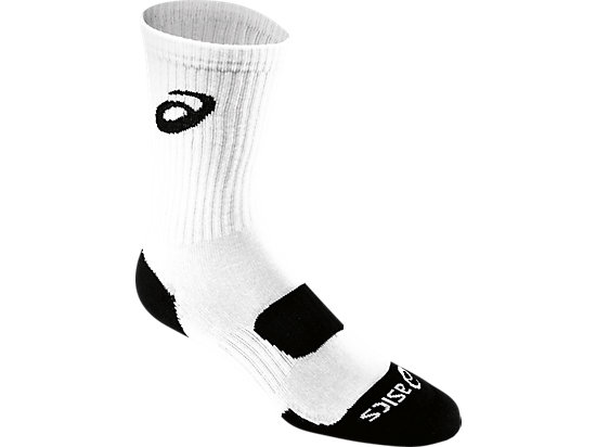 Team Performance Crew Sock White 3