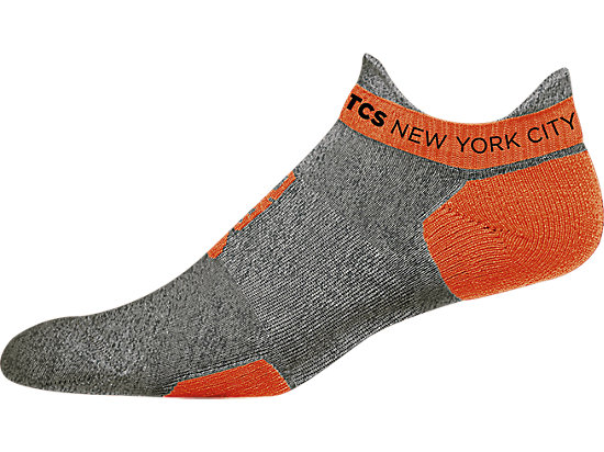 Marathon Low Cut Sock Heather Grey/Shock 3