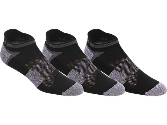 Quick Lyte Cushion Single Tab Black/Grey Heather 3