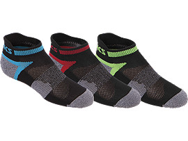 Youth Quick Lyte Cushion Low Cut (3 Pack)