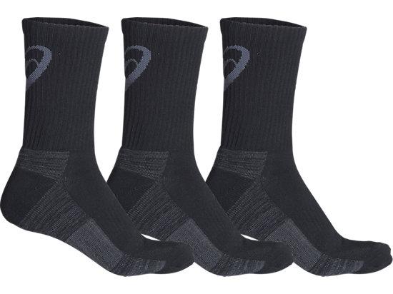 Training Crew 3PPK Sock Black 3