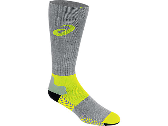 Compression Wool Knee High Safety Yellow 3