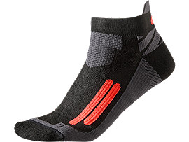 NIMBUS ST SOCK, Black/Fiery Flame