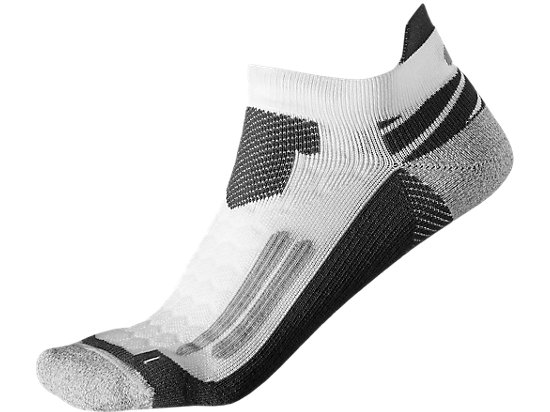 NIMBUS ST SOCKEN REAL WHITE/DARK GREY 3