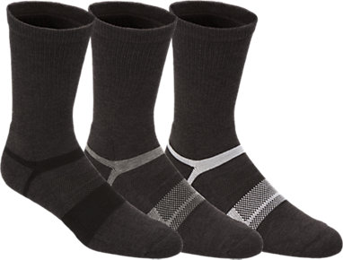 8967e7526c80 Quick Lyte Wool Blend Crew Dark Grey Heather Assorted 3 FT