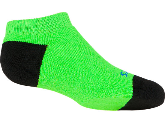 PRF Stripe Youth No Show Socks (3 Pack) Heather Iron Assorted 51