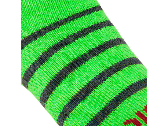 PRF Stripe Youth No Show Socks (3 Pack) Heather Iron Assorted 55