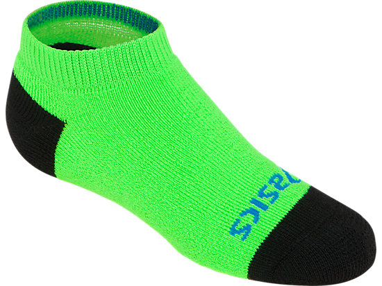 PRF Stripe Youth No Show Socks (3 Pack) Heather Iron Assorted 27