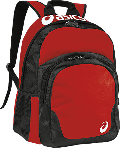 bed90122a9fa ASICS Team Backpack Red Black 3 FT