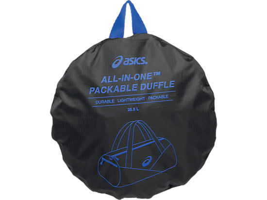 All-In-One Packable Duffle Black/Black 15