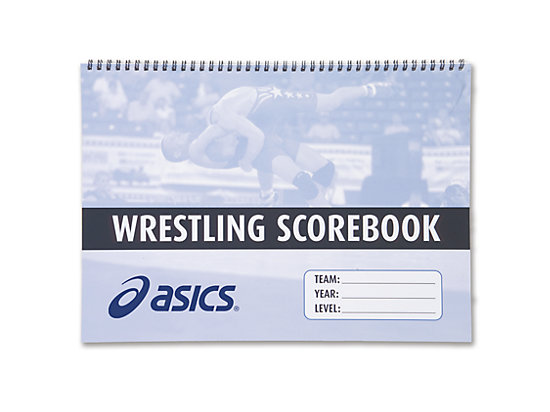 Wrestling Scorebook No Color 3