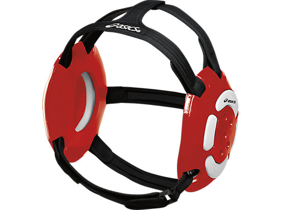 Aggressor Earguard Red/White 3