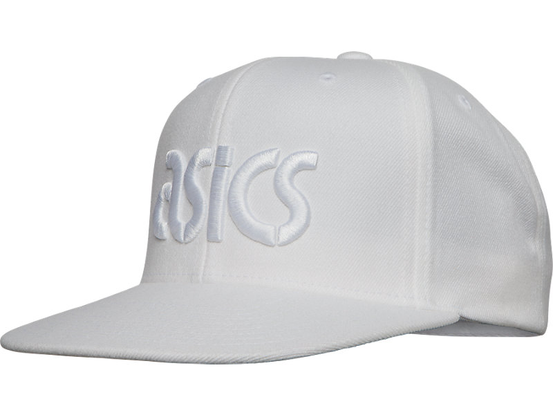 LOGO SNAP BACK White 1 FT